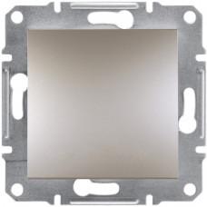 Выключатель одноклавишный перекрестный, Бронза Asfora, EPH0500169