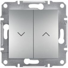 Выключатель для жалюзи, Алюминий Asfora, EPH1300161
