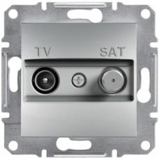 Розетка TV-SAT індивідуальна (1 дБ) Алюміній, Asfora, EPH3400461