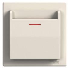 Выключатель карточный, Кремовый EPH6200123