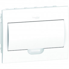 Щит пластиковий внутрішній з білими дверцятами 1ряд/12М+2КК Schneider Electric EZ9E112P2F
