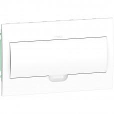 Щит пластиковий внутрішній з білими дверцятами 1ряд/18М+2КК Schneider Electric EZ9E118P2F