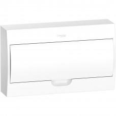 Щит пластиковий навісний з білими дверцятами 1ряд/18М+2КК Schneider Electric EZ9E118P2S