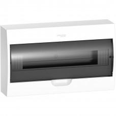 Щит пластиковий навісний з прозорими дверцятами 1ряд/18М+2КК Schneider Electric EZ9E118S2S