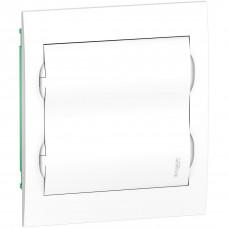 Щит пластиковий внутрішній з білими дверцятами 2ряда/24М+2КК Schneider Electric EZ9E212P2F