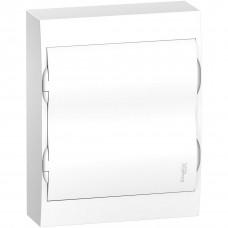 Щит пластиковий навісний з білими дверцятами 2ряда/24М+2КК Schneider Electric EZ9E212P2S