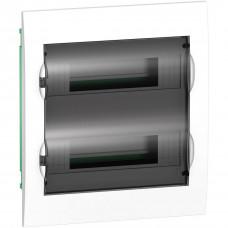 Щит пластиковий внутрішній з прозорими дверцятами 2ряда/24М+2КК Schneider Electric EZ9E212S2F