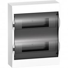 Щит пластиковий навісний з прозорими дверцятами 2ряда/24М+2КК Schneider Electric EZ9E212S2S