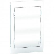 Щит пластиковий внутрішній з білими дверцятами 3ряда/36М+2КК Schneider Electric EZ9E312P2F