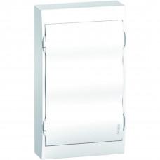 Щит пластиковий навісний з білими дверцятами 3ряда/36М+2КК Schneider Electric EZ9E312P2S