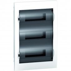 Щит пластиковий внутрішній з прозорими дверцятами 3ряда/36М+2КК Schneider Electric EZ9E312S2F