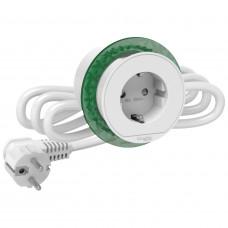 Розетка в стіл 220в, білий, Schneider Electric INS44000