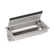 Врізний блок в стіл для розеток, порожній на 12 модулей, Schneider Electric ISM20410