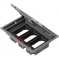 Підлоговий люк для розеток, 12 модулей, OptiLine 45 Schneider Electric ISM50636