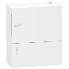 Щит MINI PRAGMA 1ряд/8 модулів, навісний, білі дверцята Schneider Electric MIP12108