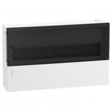 Щит MINI PRAGMA 1ряд/18 модулів, навісний, прозорі дверцята Schneider Electric MIP12118S