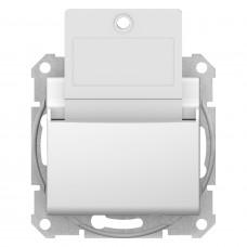 Карточный выключатель 10А-250В, Белый, Sedna SDN1900121
