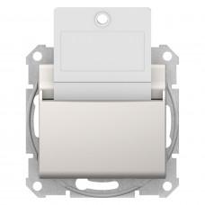 Карточный выключатель 10А-250В, Слоновая кость, Sedna SDN1900123
