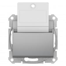 Карточный выключатель 10А-250В, Алюминий, Sedna SDN1900160