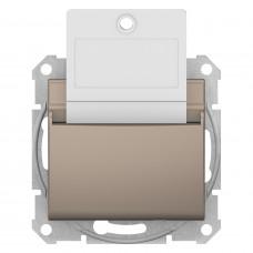 Карточный выключатель 10А-250В Титан, Sedna SDN1900168