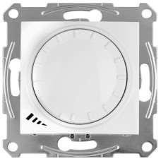 Светорегулятор LED поворотно-нажимнойуниверсальный, 230 В, 4-400 Вт/ВА, Белый, Sedna SDN2201221