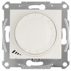 Светорегулятор LED поворотно-нажимнойуниверсальный, 230 В, 4-400 Вт/ВА, Слоновая кость, Sedna SDN2201223