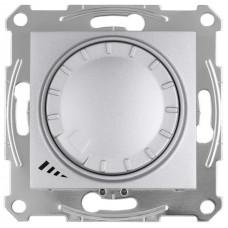 Светорегулятор LED поворотно-нажимнойуниверсальный, 230 В, 4-400 Вт/ВА, Алюминий, Sedna SDN2201260