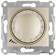 Светорегулятор LED поворотно-нажимнойуниверсальный, 230 В, 4-400 Вт/ВА, Титан, Sedna SDN2201268