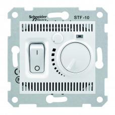 Термостат для теплої підлоги 10 A - 230 В, з температурним датчиком 4м, Білий, Sedna SDN6000321