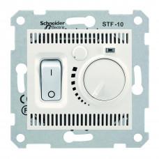 Термостат для теплої підлоги 10 A - 230 В, з температурним датчиком 4м, Слонова кістка, Sedna SDN6000323