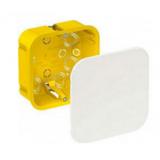 Розподільна коробка для полих стін, 100х100х50, Unica IMT35161