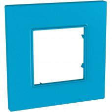 Рамка 1-постова, Aqua, Unica Quadro MGU4.702.26
