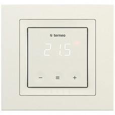 Терморегулятор для теплої підлоги, Слонова кістка, Terneo s unic