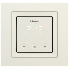 Терморегулятор для теплого пола, Слоновая кость, Terneo s unic