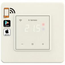 Терморегулятор Wi-Fi для теплого пола c сенс. управл., Слоновая кость, Terneo sx