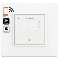 Терморегулятор Wi-Fi для теплого пола c сенс. управл., Белый, Terneo sx