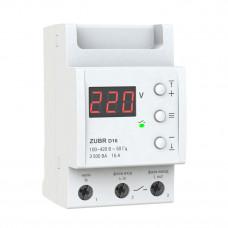Реле напряжения для управления контактором 16А, 3 кВт, Zubr D16